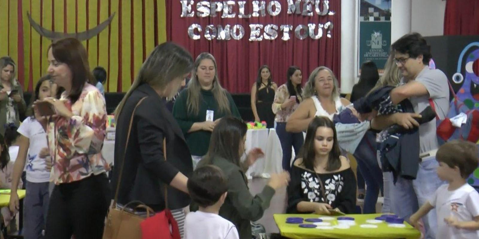 Escola Professor Jairo Grossi: projeto ensina as crianças a conhecer e lidar com a maioria das emoções