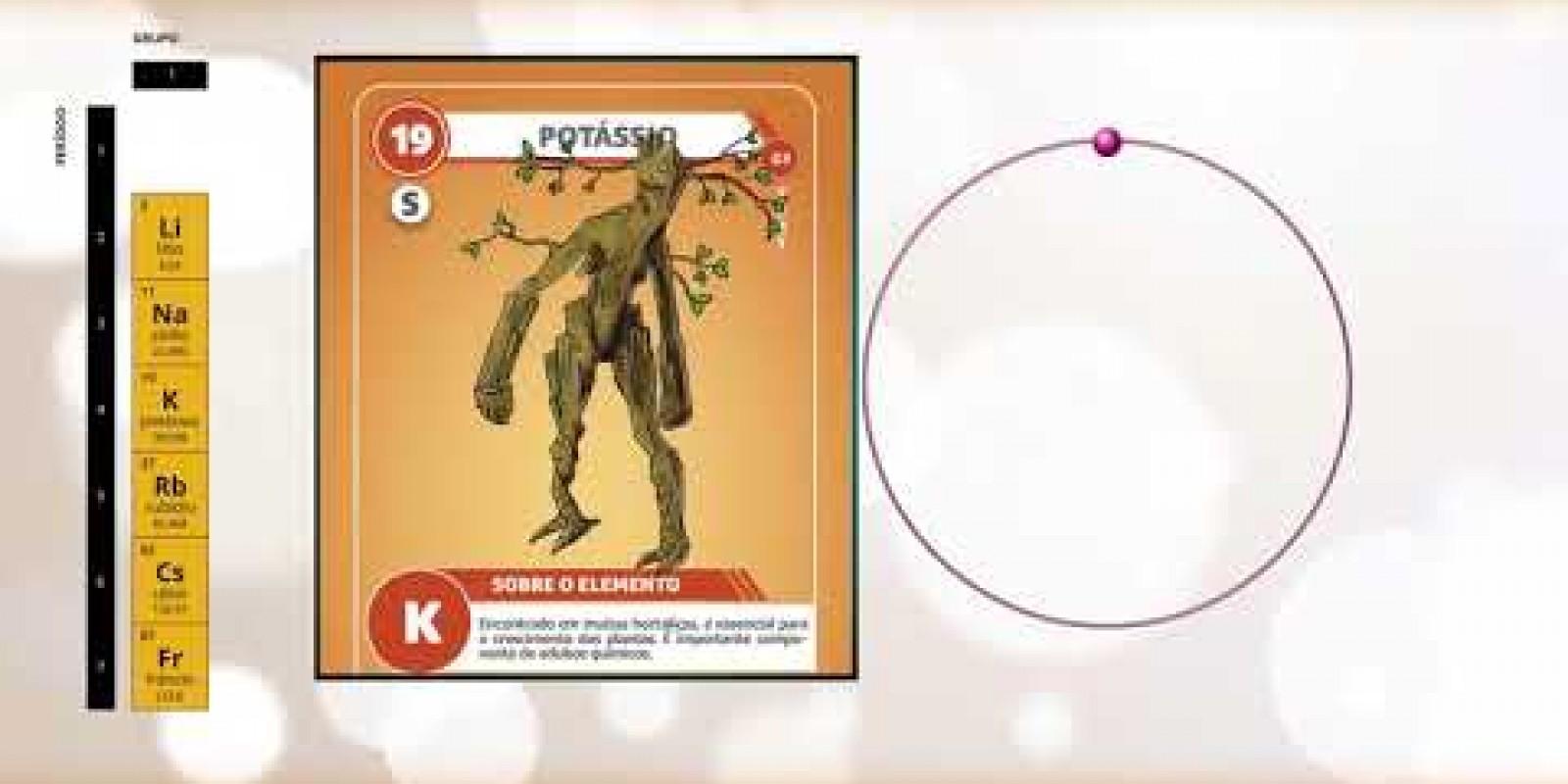 Série Chemical Heroes - Grupo 1